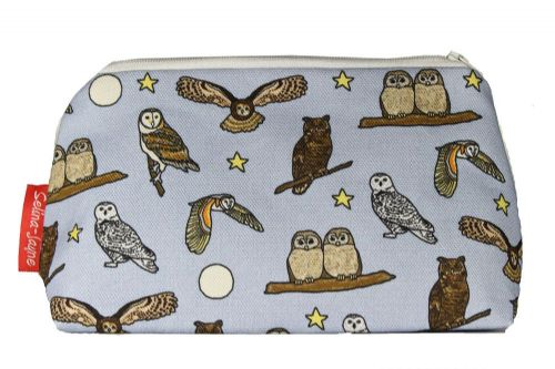 Selina-Jayne Owls Limited Edition Designer Cosmetic Bag